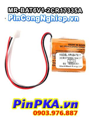 Pin Lithium Maxell MR-BAT6V1-2CR17335A 1650mAh 6V
