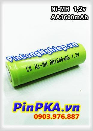 Pin Sạc Công Nghiệp-Pin Cell 1,2v Ni-MH AA1600mAh
