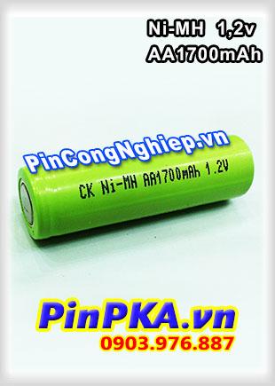 Pin Sạc Công Nghiệp-Pin Cell 1,2v Ni-MH AA1700mAh