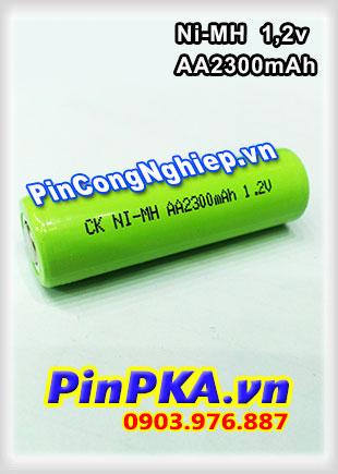 Pin Sạc Công Nghiệp-Pin Cell 1,2v Ni-MH AA2300mAh