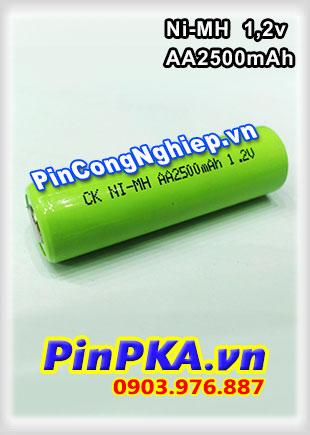 Pin Sạc Công Nghiệp-Pin Cell 1,2v Ni-MH AA2500mAh