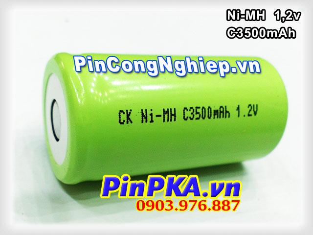 Pin Sạc Công Nghiệp-Pin Cell 1,2v Ni-MH C3500mAh