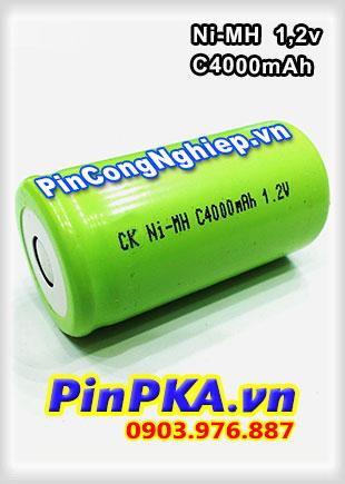 Pin Sạc Công Nghiệp-Pin Cell 1,2v Ni-MH C4000mAh