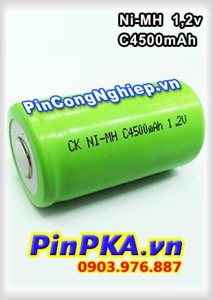 Pin Sạc Công Nghiệp-Pin Cell 1,2v Ni-MH C4500mAh