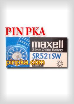 Pin Cúc Áo 1,55V Maxell SR521SW-379