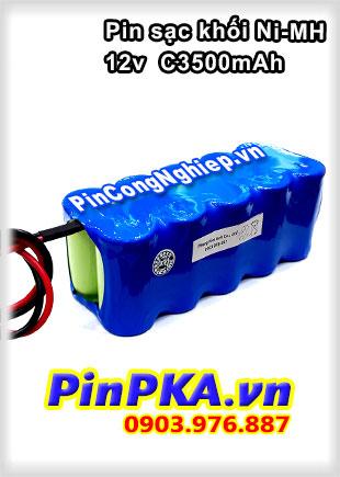 Pin Đèn khẩn cấp 12v C3500mAh Ni-MH