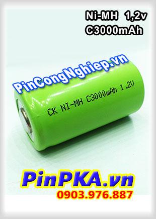Pin Sạc Công Nghiệp-Pin Cell 1,2v Ni-MH C3000mAh