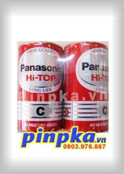 Pin trung C 1,5v Panasonic Hi-Top Battery R14DT