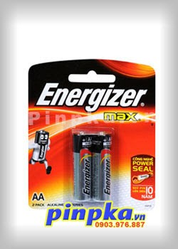 Pin tiểu AA Energizer Max Alkaline Power Seal E91/BP2 LR6
