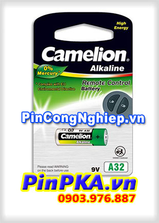 Pin Remote Cửa Cuốn 9V Camelion A32