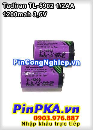 Pin Lithium Tadiran TL-5902 1200mAh 3,6V