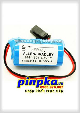 Pin Lithium PLC-CNC Allen Bradley 1756-BA2 1200mAh 3V
