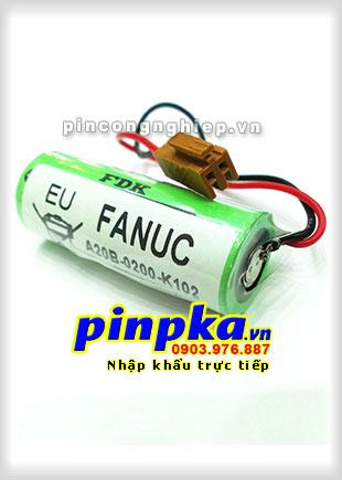 Pin Lithium PLC-CNC Fanuc A20B-0200-K102 2500mAh 3V