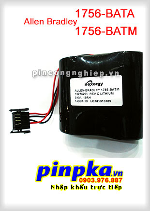 Pin Lithium PLC-CNC Allen Bradley 1756-BATA/ 1756-BATM 19000mAh 3,6V
