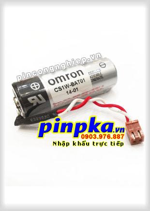 Pin Nuôi Nguồn PLC-CNC Lithium 3,6V Omron CS1W-BAT01 A 2700mAh