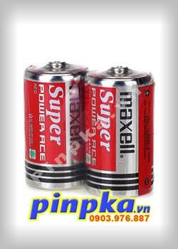 Pin đại D 1,5V Maxell Super Power Ace R20P(AR)