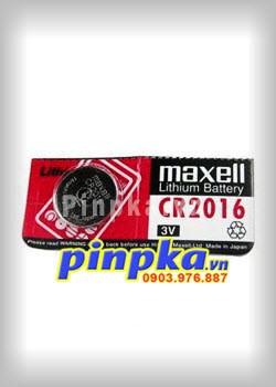 Pin cúc áo 3V Maxell Lithium CR2016