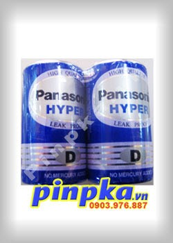 Pin đại D 1,5V Panasonic Hyper Battery R20UT