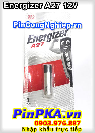 Pin Remote Cửa Cuốn 12V Energizer 27A