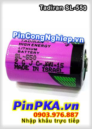 Tadiran SL-550 3,6V Lithium battery