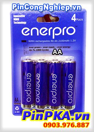 Pin sạc tiểu Enerpro R6 AA 2100mAh (vỉ 4)