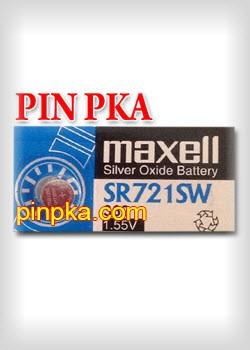 Pin Cúc Áo 1,55V Maxell SR721SW-362