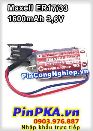 Pin Lithium Maxell ER17/33 1600mAh 3,6V