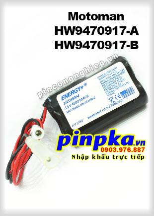 Pin Lithium PLC-CNC Yaskawa Motoman HW9470917-A/ HW9470917-B 4900mAh 3,6V