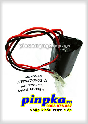 Pin Lithium PLC-CNC Yaskawa Motoman HW9470932-A 7350mAh 3,6V