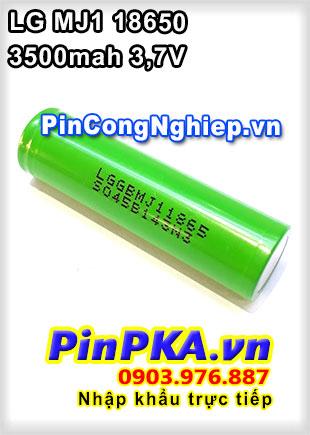 Pin Sạc Công Nghiệp Li-ion 3,7V LG MJ1 18650 3500mAh