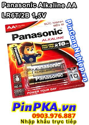 Pin Alkaline AA 1,5V Panasonic LR6T(2B)