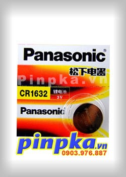 Pin cúc áo 3v Panasonic Lithium CR1632