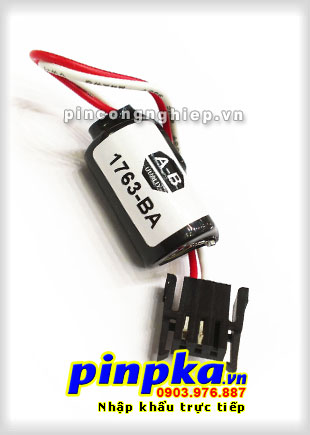 Pin Lithium 3v Allen Bradley 1763-BA 1/2AA 850mAh