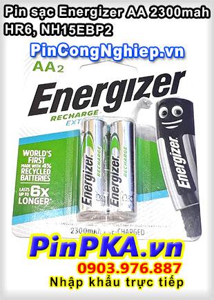 Pin sạc tiểu AA Energizer Extreme 2300mAh HR6 NH15EBP2