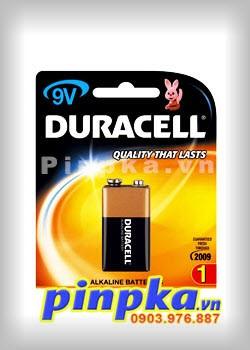 Pin 9V Duracell Alkaline MN1604 - 6LR61