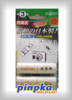 Pin sạc tiểu AA Fujitsu 1900mAh HR-3UTA(2B)