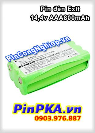 Pin Đèn Exit Ni-MH 14,4v AAA 800mAh