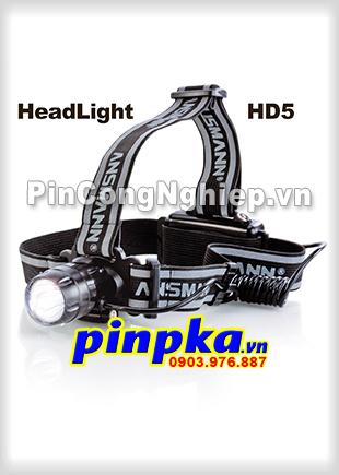 Đèn Pin Siêu Sáng Đeo Trán Ansmann Led HeadLight HD5