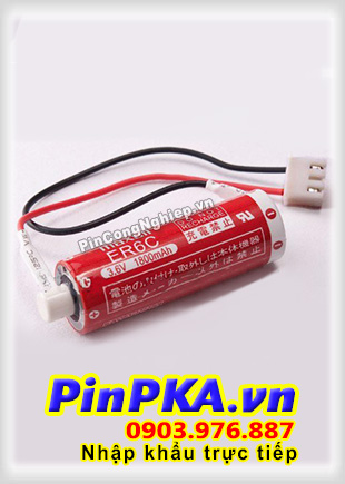 Pin Nuôi Nguồn PLC-CNC Lithium 3,6V Maxell ER6C AA 1800mAh
