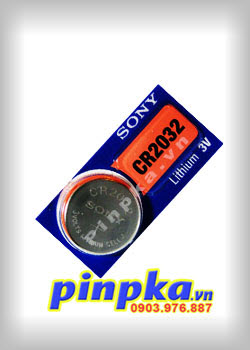 Pin CMOS Sony CR2032
