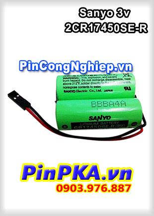 Pin Nuôi Nguồn PLC-CNC Lithium 3v Sanyo 2CR17450SE-R