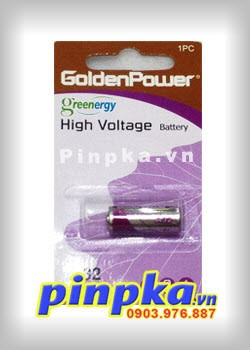 Pin Remote Cửa Cuốn 9V GoldenPower High Voltage 32A
