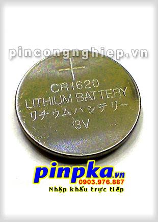 Pin Cúc Áo 3V CR1620
