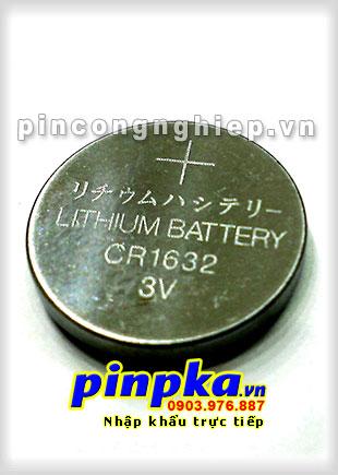 Pin Cúc Áo 3V CR1632
