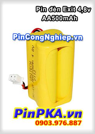 Pin Đèn Exit 4,8v AA 500mAh