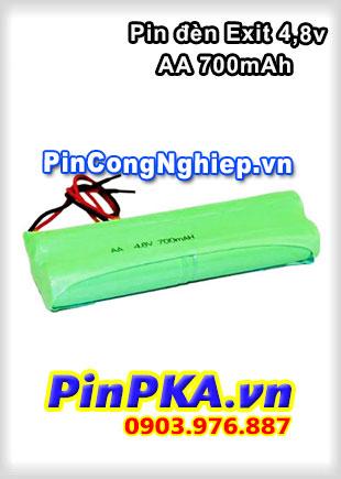 Pin Đèn Exit 4,8V AA 700mAh