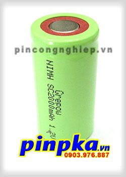 Pin Sạc Công Nghiệp-Pin Cell 1,2v NIMH SC2000mAh