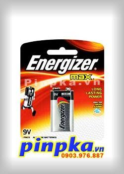 Pin 9V Energizer Max Alkaline 6LR61