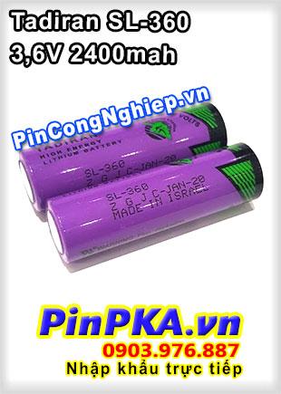 Pin Lithium Tadiran SL-360 2400mAh 3,6V