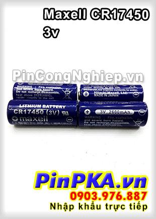 Maxell CR17450 3V Lithium Batery